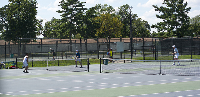 Tennis Center, East Potomac Park by Tim Evanson