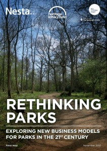 Rethinking Parks cover